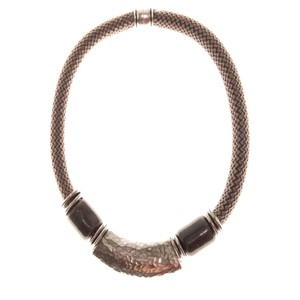 Strata Capricorn Short Necklace