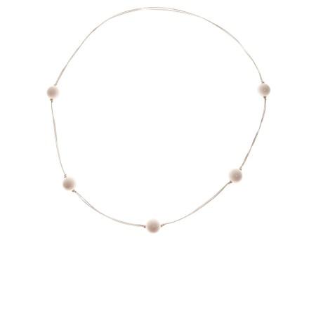 Etnika Cosmic Long Necklace - White