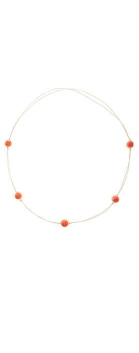 Etnika Cosmic Long Necklace Tobacco
