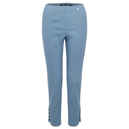 Robell  Lena Ankle Detail Trouser - Blue