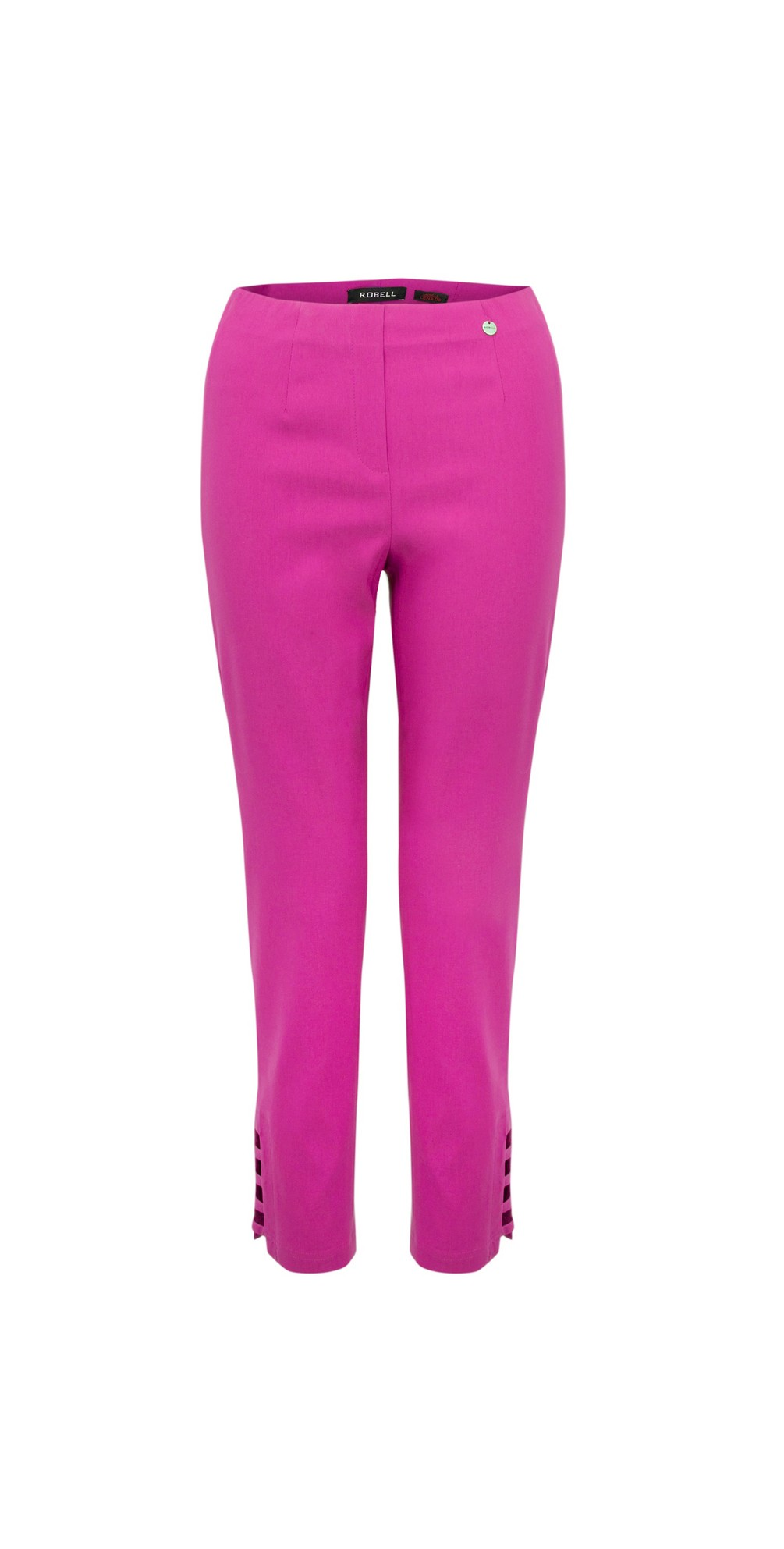 Lena Magenta Ankle Detail Cropped Trouser main image