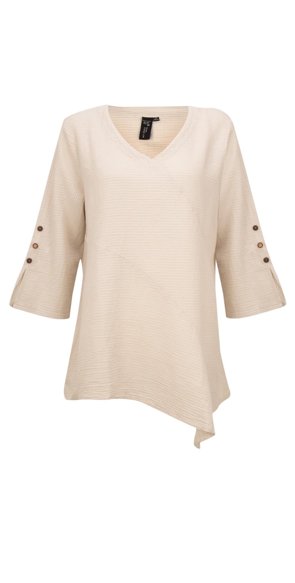 Button Sleeve Tunic main image