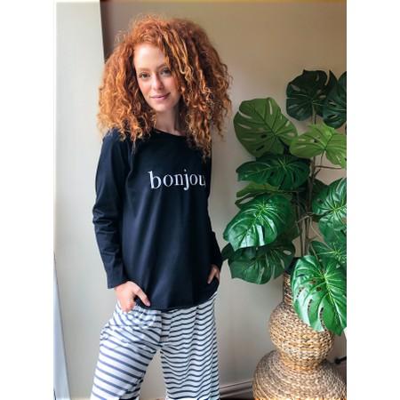 Chalk Gemini Exclusive ! Tasha Bonjour Top - Beige