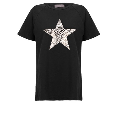 Chalk Darcey Star Top - Black