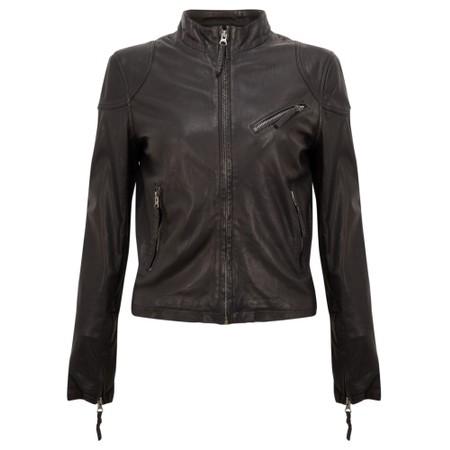 MDK Kassandra Leather Jacket - Black