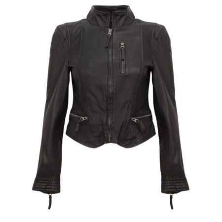 MDK Rucy Leather Jacket - Black
