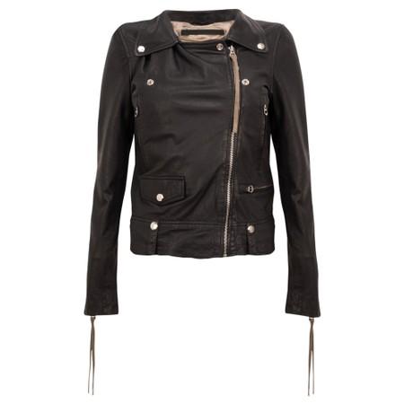 MDK Seattle Leather Jacket - Black