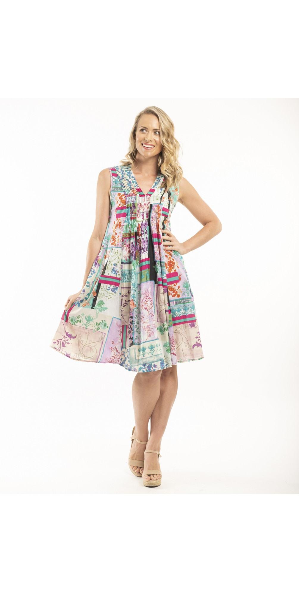 Pleated Dress main image