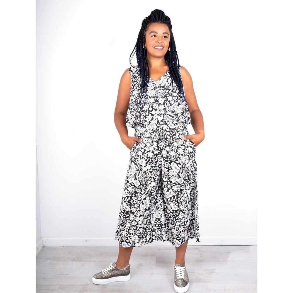 Orientique Pergamon Jumpsuit Black / White