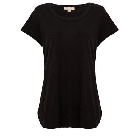 Orientique Essential Short Sleeve Top  - Black