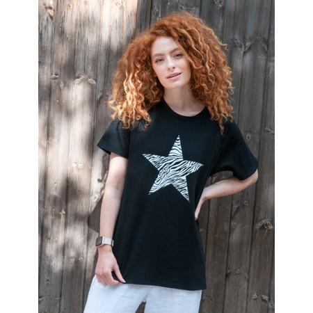 Chalk Darcey Star Top - Black