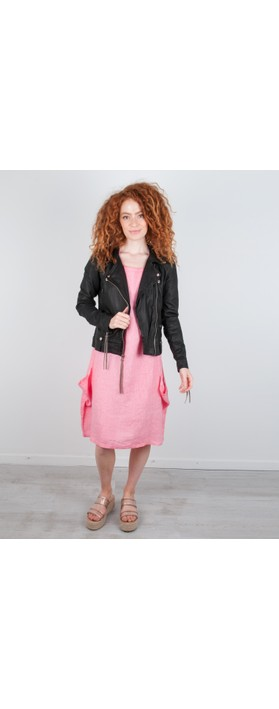 MDK Seattle Leather Jacket Black