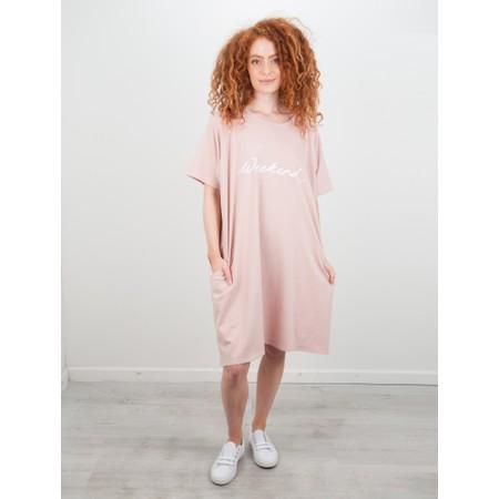 Chalk Linda Weekend Dress - Pink