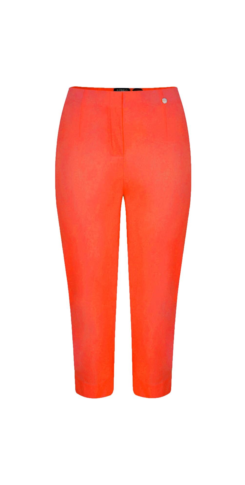 Marie 07 Orange Cropped Trouser main image