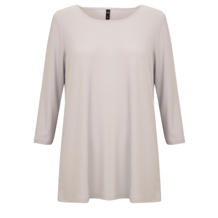 Focus 3/4 Sleeve Top - Metallic