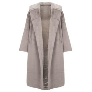 Jayley Long Faux Fur Shearling Coat