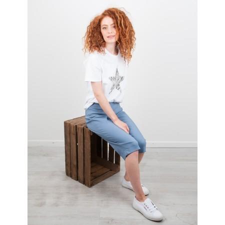 Chalk Darcey Star Top - White