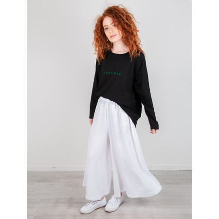 Chalk Robyn Bright Fabulous Top - Black