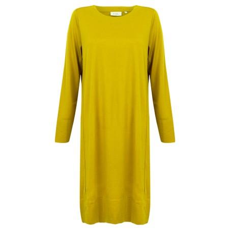 Foil Smooth Moves Split Dress - Green