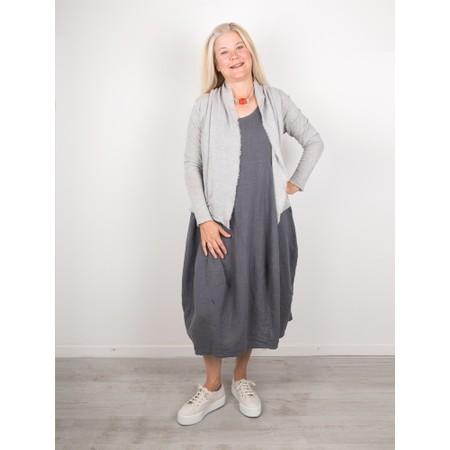 Thing Freya Linen  Sleeveless Dress - Grey