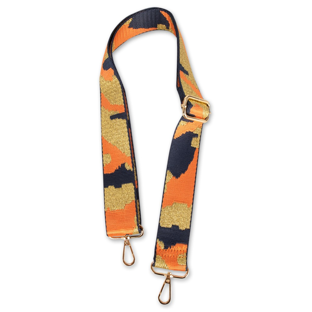 Kris-Ana Greta Bag Strap Camo Orange