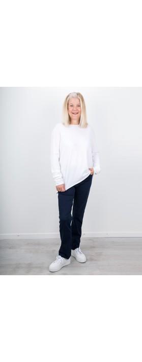 Amazing Woman Moonlite 02 Straight Leg Jeans StoneWash