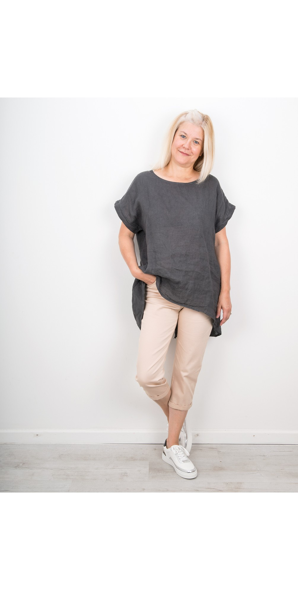 Moonlite 09 Superstretch Slimfit Crop Trouser main image
