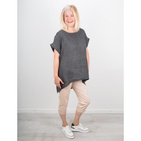 Amazing Woman  Moonlite 09 Superstretch Slimfit Crop Trouser - Beige