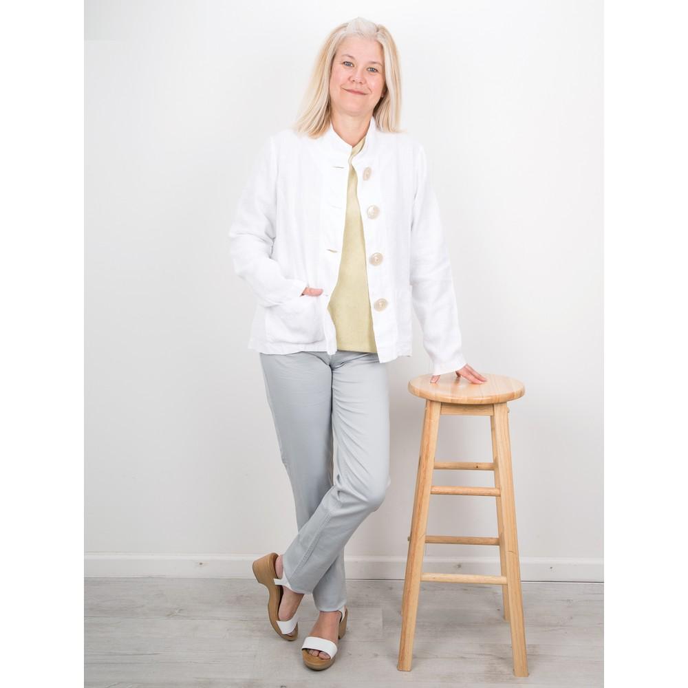 Amazing Woman Moonlite 02 Slimfit Cotton Stretch Jean  Silver
