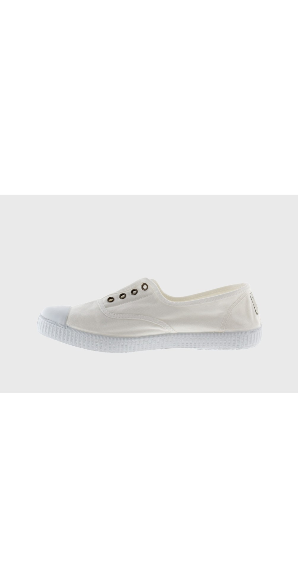 Dora Organic Cotton No Lace Pump main image