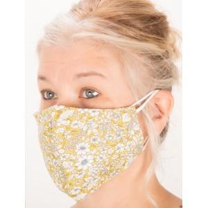 Jayley Floral Face mask  - Green