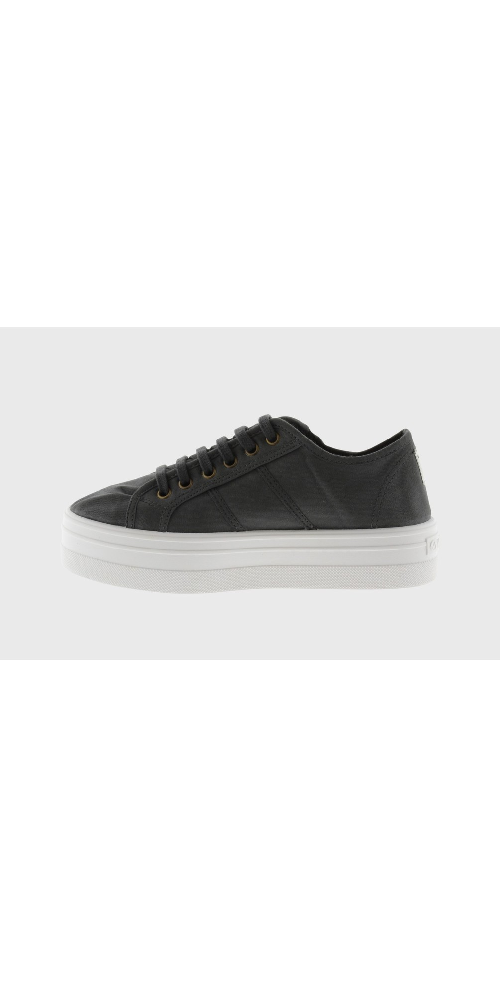Barcelona Organic Cotton Washable Flatform Trainer Shoe  main image