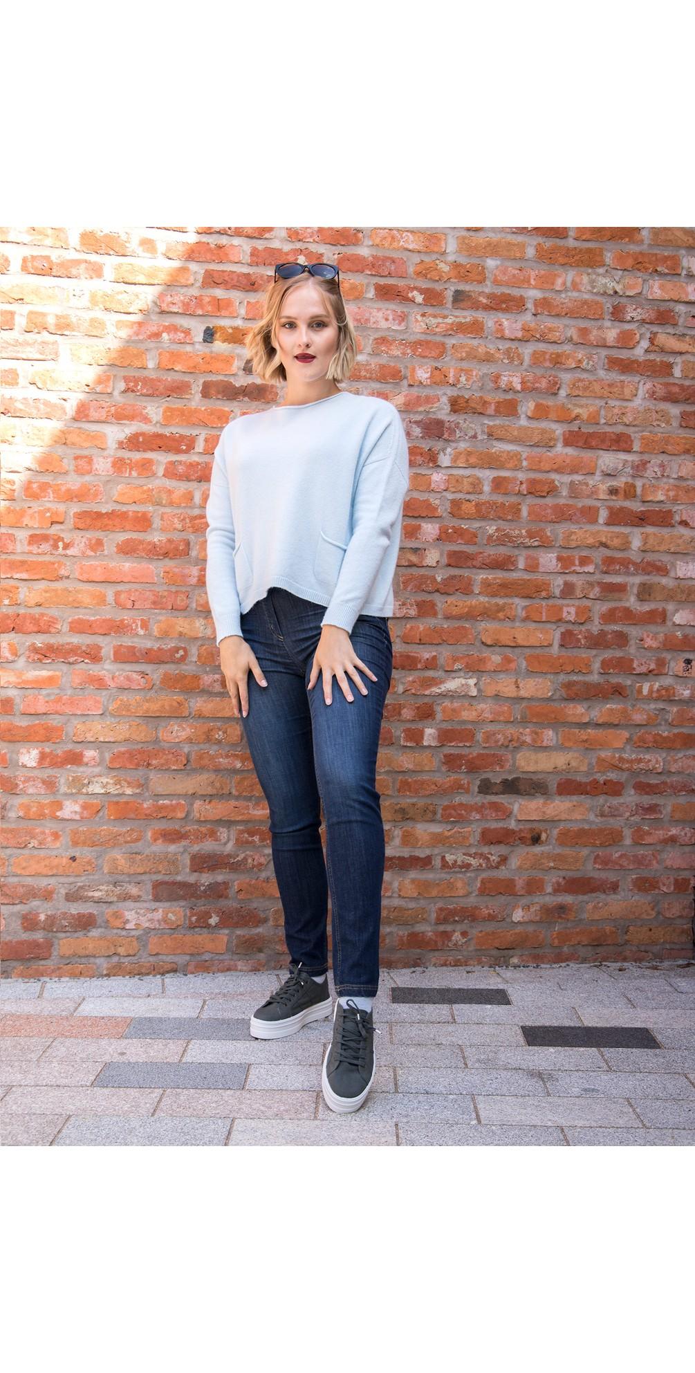 Jodie Front Pocket Supersoft Knit Jumper main image