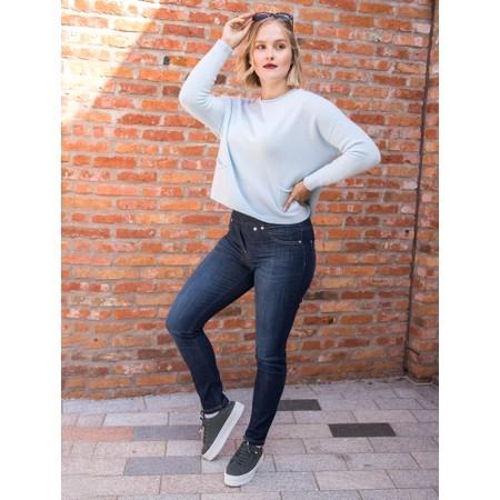 Amazing Woman Jodie Front Pocket Supersoft Knit Jumper - Blue