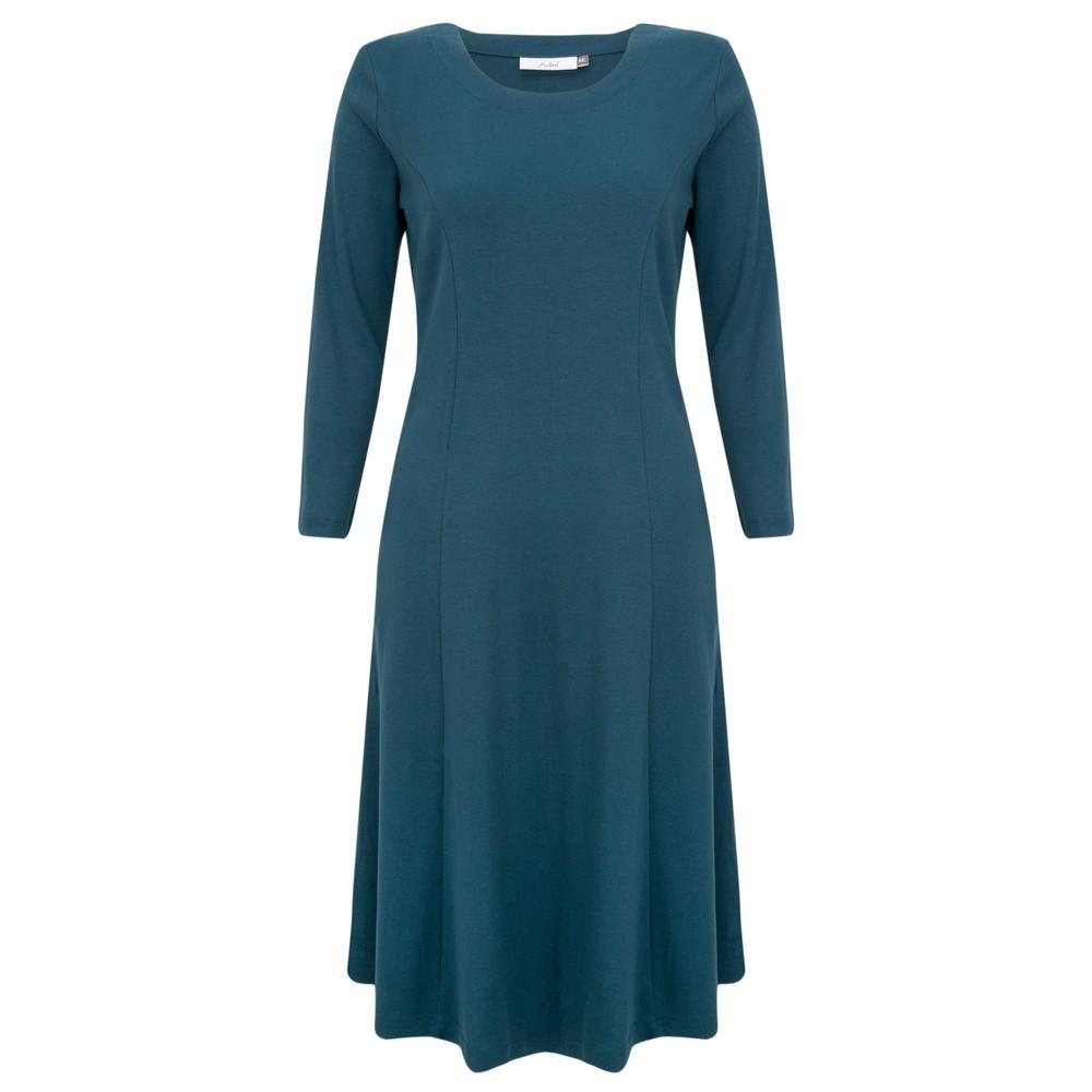 Adini Kathi Fit & Flare Midi Dress Teal