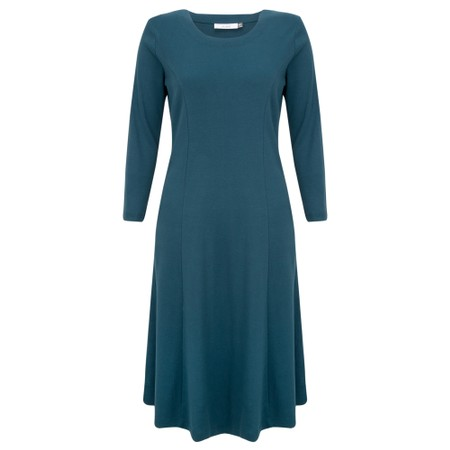 Adini Kathi Fit & Flare Midi Dress - Green