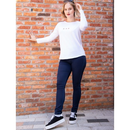 Victoria Shoes Barcelona Canvas Flatform Trainer Shoe - Black