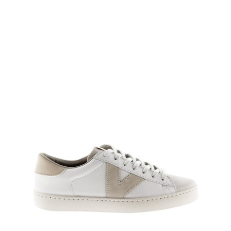Victoria Shoes Berlin Classic Victoria V Leather Trainer - White
