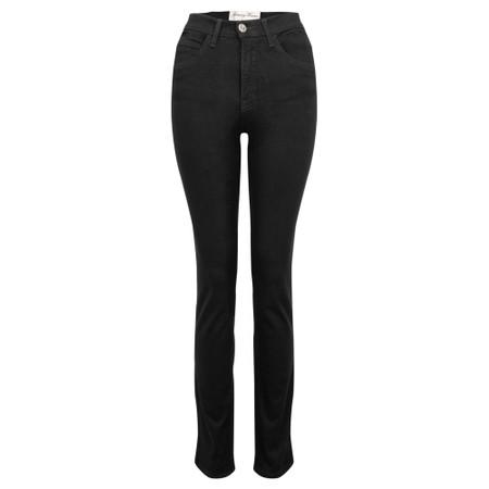 Amazing Woman  02 Guapa Straight Leg Slim Fit Jean - Black