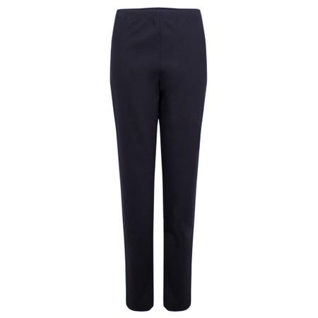 Sahara Ponte Slim Trouser - Blue