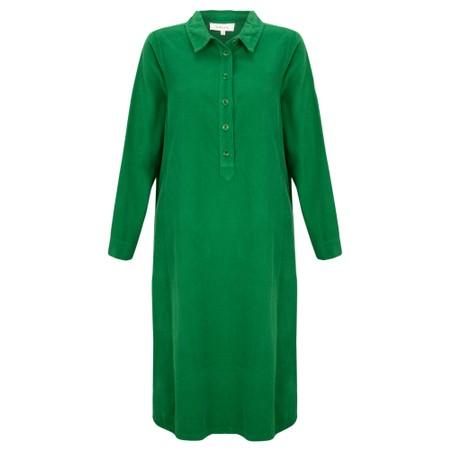 Sahara Baby Cord Shirt Dress - Green