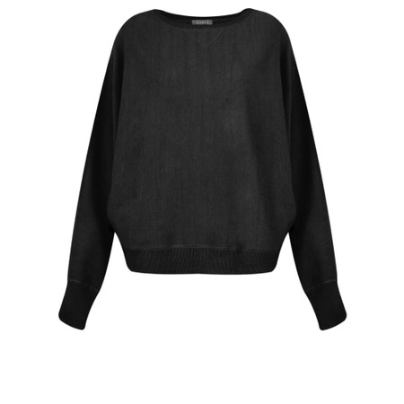 Chalk Betty Supersoft Knit Jumper - Black