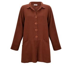 Thing Jet Pocket Winter Linen Jacket