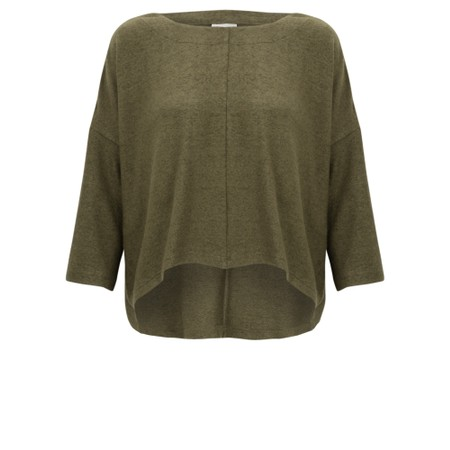 Thing Hannah Supersoft Fleece Rectangle Top - Green