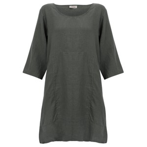 Thing Two Pocket Winter Linen Tunic