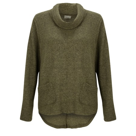 Thing Supersoft Cowl Neck Top - Gemini Exclusive !  - Green