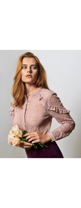 Rosemunde Avea Blouse 341-Dusky Pink