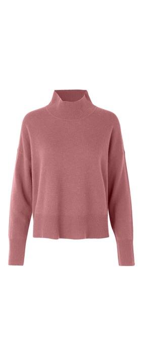 Rosemunde Laica Cashmere Jumper 425-Dusky Pink
