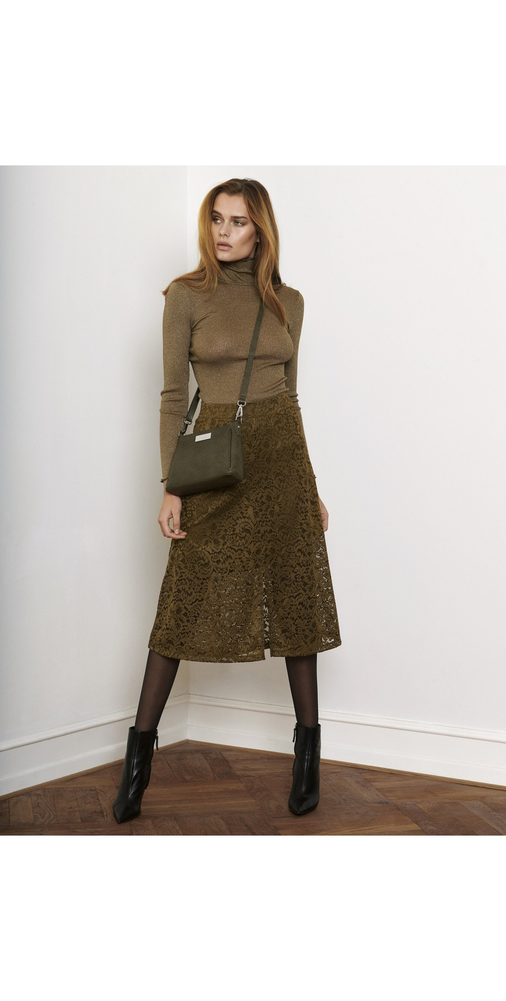Manacore Lace  Midi Skirt main image