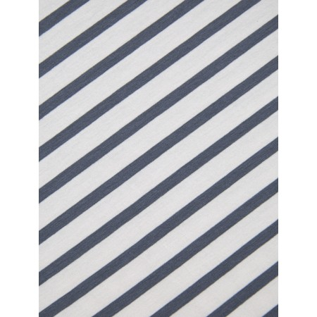 Chalk Sally Stripe Scarf - Grey